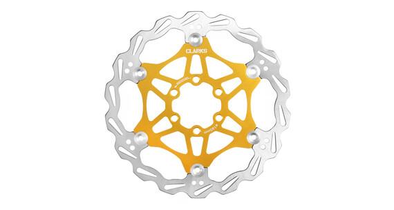 Clarks Lightweight Disc-Rotor remschijven geel